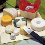 Surtido de quesos en pani-set